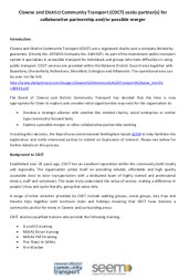 CDCT Call for Engagement paper - pdf version...